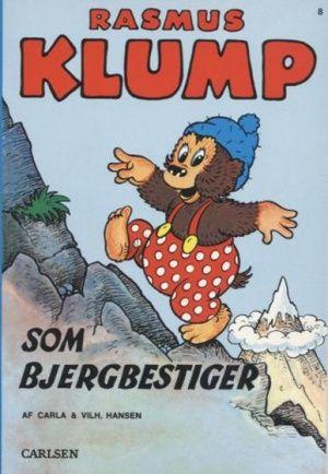 Rasmus Klump som bjergbestiger. Nr 8