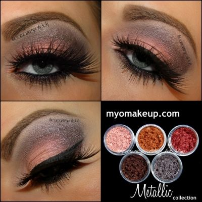 Eyeshadow Pigment Sets - 5 Piece Myo Eyeshadow Pigment Metallic Set Mica Cosmetic Mineral Makeup Limited Edititon (Powered by CubeCart)