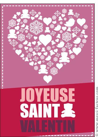 23 best images about saint valentin on pinterest - Carte saint valentin a fabriquer ...