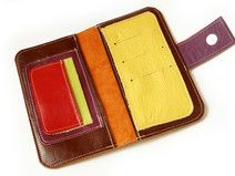 Brown Women s Leather wallet ,Handmade Wallet