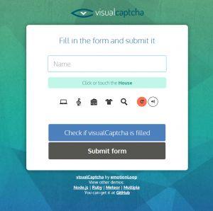 Un système de captcha visuel sans prise de tête pour l'utilisateur