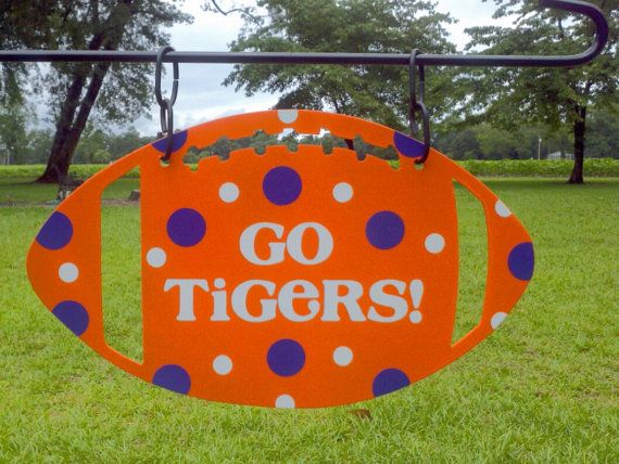 Clemson Football by atmiles on Etsy, $35.00