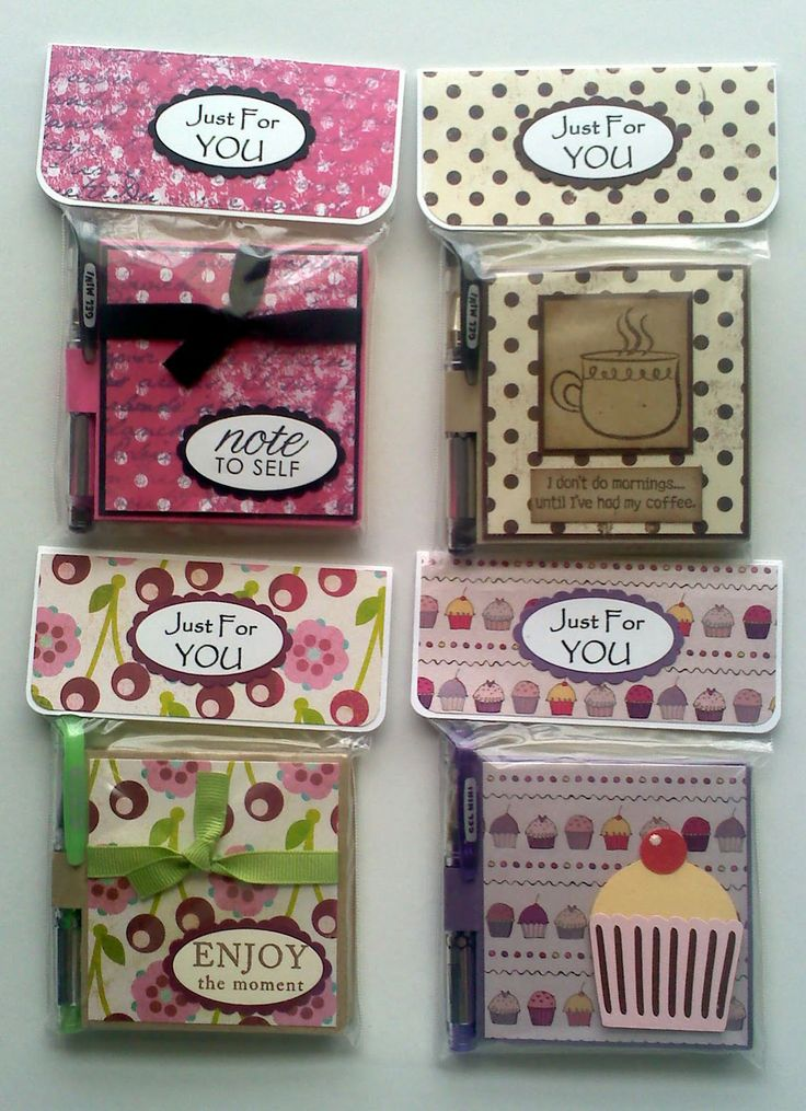 † Great craft fair/boutique ideas-lots ideas here post it note holders