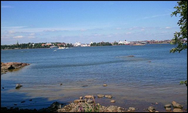 City view from Länsi-Musta Island