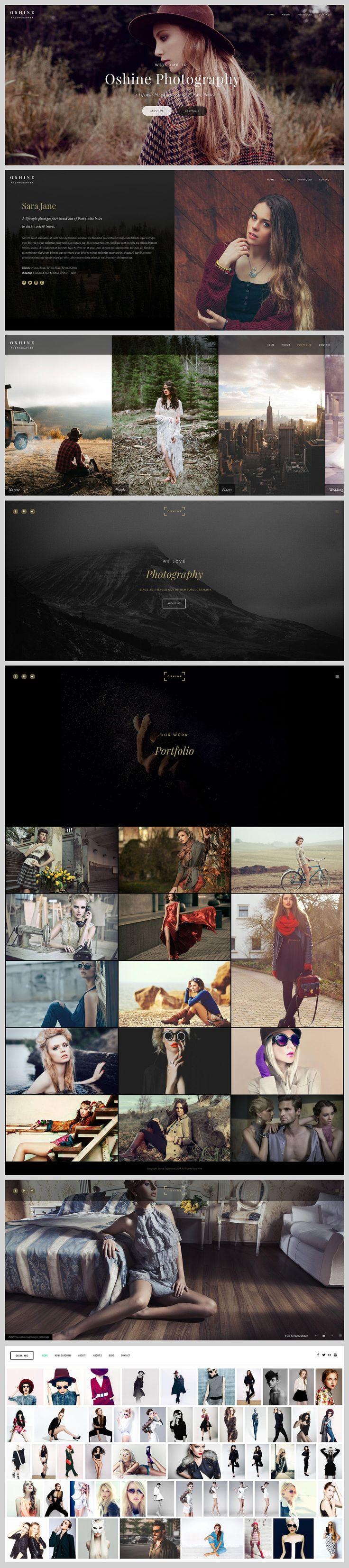 "Check out my @Behance project: ""Oshine - Creative Multi-Purpose Portfolio Theme"" https://www.behance.net/gallery/51624759/Oshine-Creative-Multi-Purpose-Portfolio-Theme"