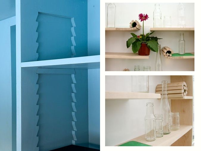 flexable shelves: House Ideas, Storage Ideas