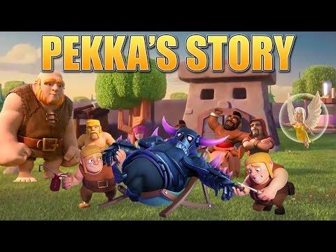Clash of Clans Story - How the P.E.K.K.A was created & the Origin of the Builders! | CoC Fan Story - YouTube