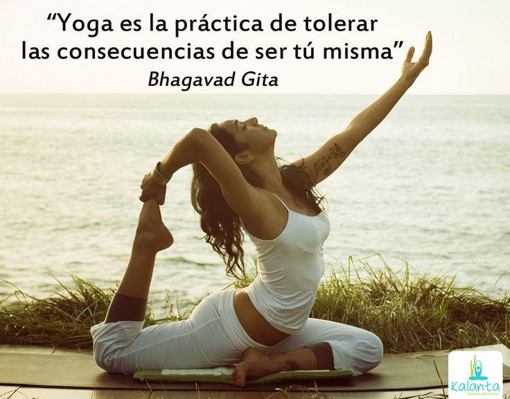 Yoga inspiración.