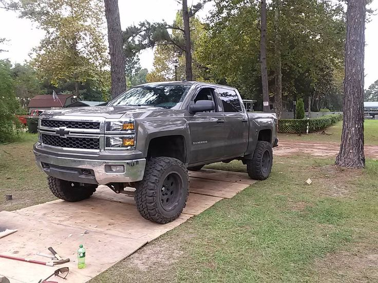 "Chevrolet Silverado 1500 4wd 2014-2017 7""-9"" Economy Lift Kit W/Shocks - McGaughys Part# 50765 - Mcgaughys-Suspension.com"