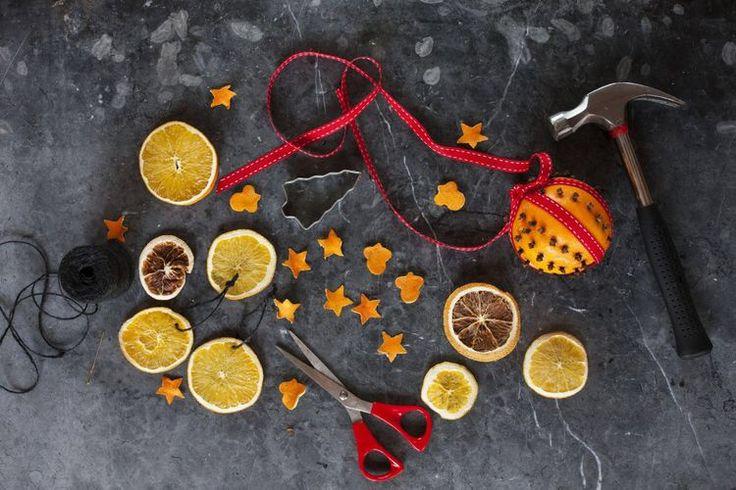 Pyssla och piffa med apelsin