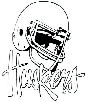 Another version of the one above appeared in the 1987 media guide - sans any red.
