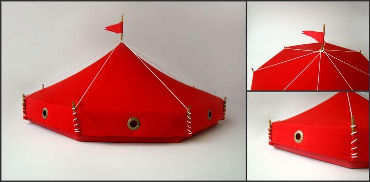 Kit de prospecção para o Festival Mundial de Circo. Ouro no Prêmio Minas de Comunicação 2012.