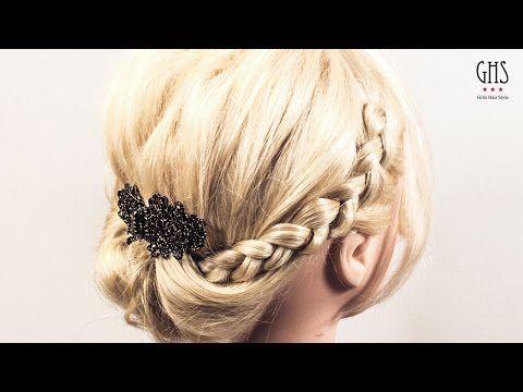 超簡単なのに可愛いまとめ髪♥ 「ギブソンタック」の素敵なヘアアレンジ   キナリノ
