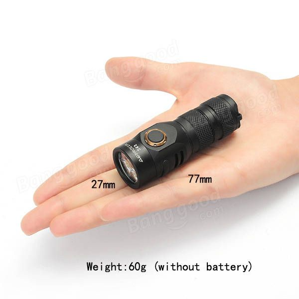 Astrolux S42 4xNichia 219C/XP-G3 2023LM Rechargeable Mini LED Flashlight