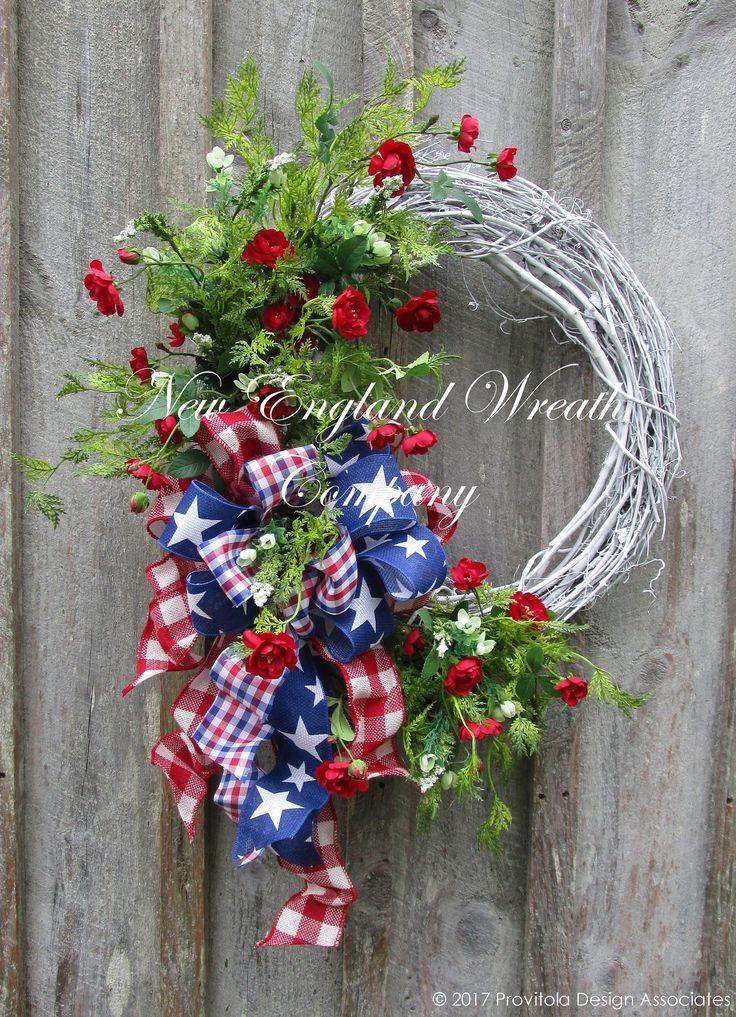 Martha's Vineyard Cottage Wreath ~New England Wreath Company Designer Original~