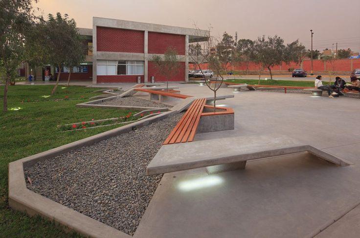 Reciclaje y ampliación Campus TECSUP UTEC / Procesos Urbanos                                                                                                                                                                                 Más