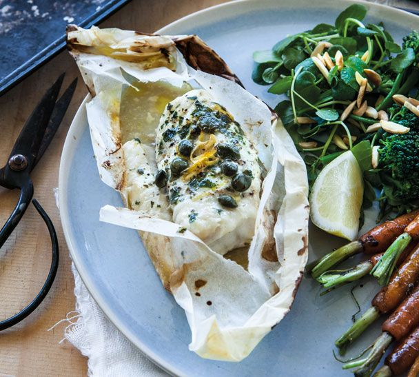 My Provencal Fish Parcels are a quick and easy dinner for #BastilleDay or any other day! Recipe at http://www.annabel-langbein.com/recipes/provencal-fish-parcels/3376/