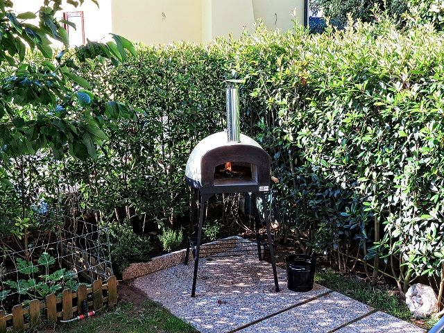 "Wonderful location for our Portable ""Subito Cotto 80"" wood fired oven!!!!"