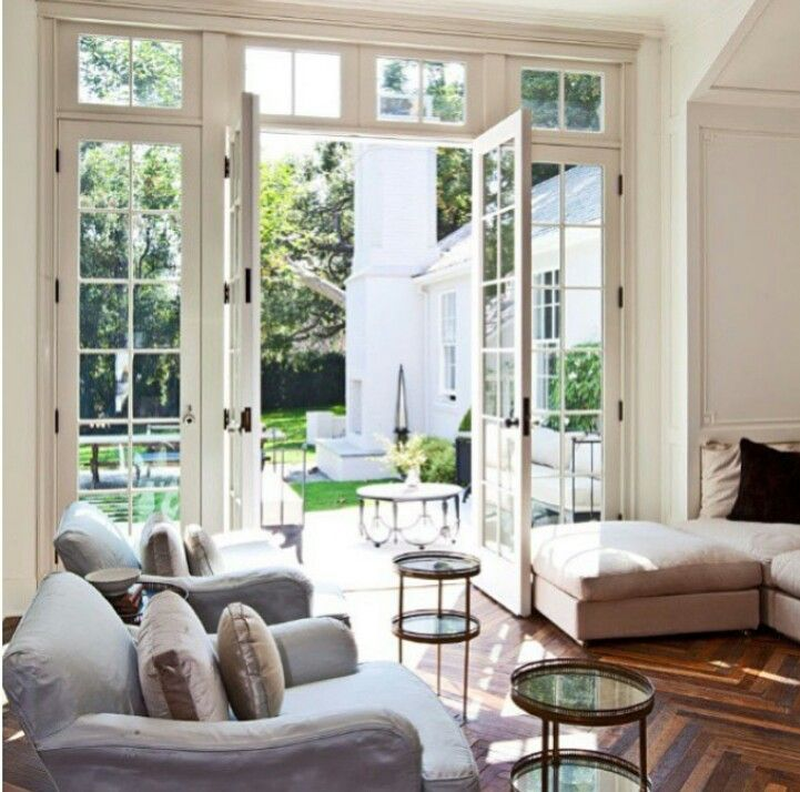 25 best ideas about exterior french doors on pinterest for Large french windows