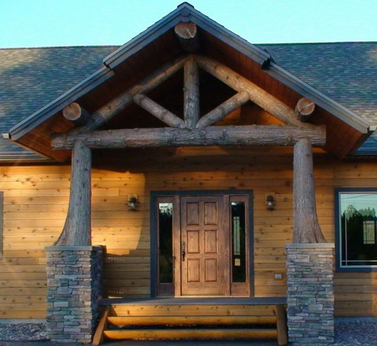 Log Home Exterior Ideas: Best 25+ Rustic Front Doors Ideas On Pinterest