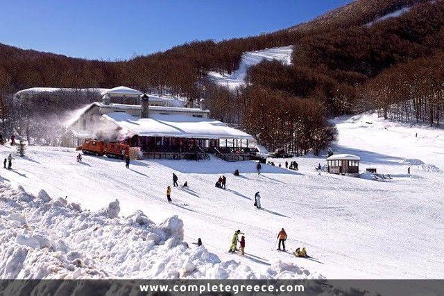 Ski resort of Vigla - Pisoderi - Florina - #Greece