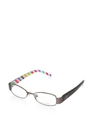 Kate Spade Women's Alanis Eyeglasses, Satin/Dark Brown