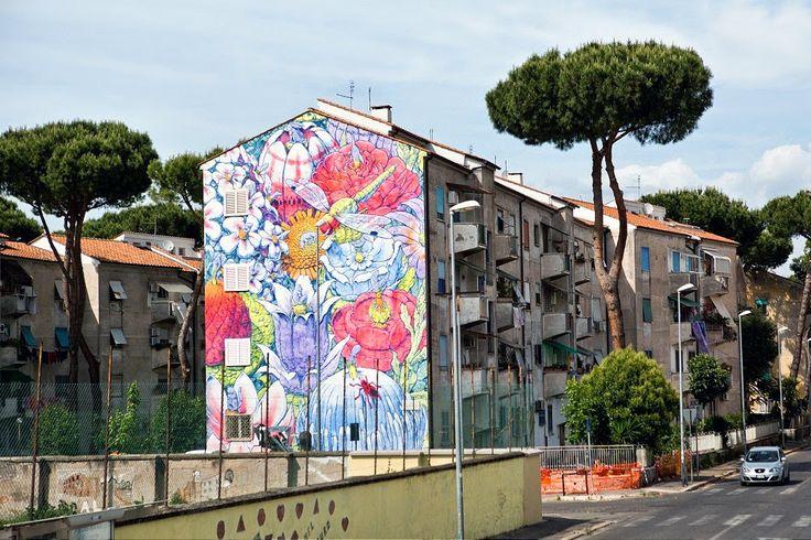 Street art... san basilio Roma