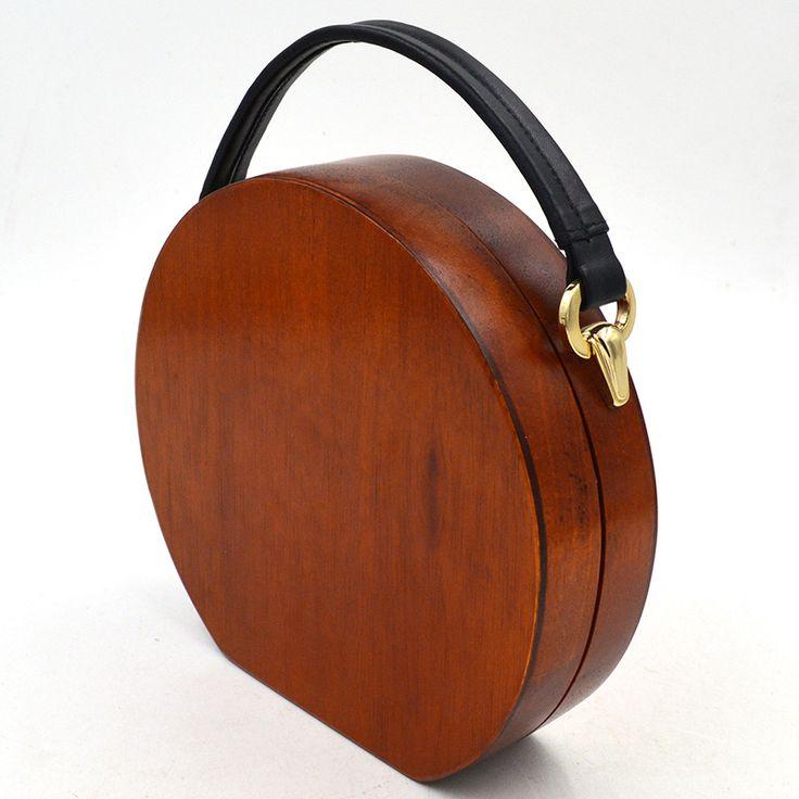 Wooden Bag //Price: $61.99 & FREE Shipping //     #diy