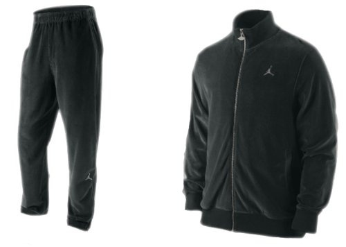 Nike Air Jordan Men`s Velour Tracksuit Pants Jacket Set ...