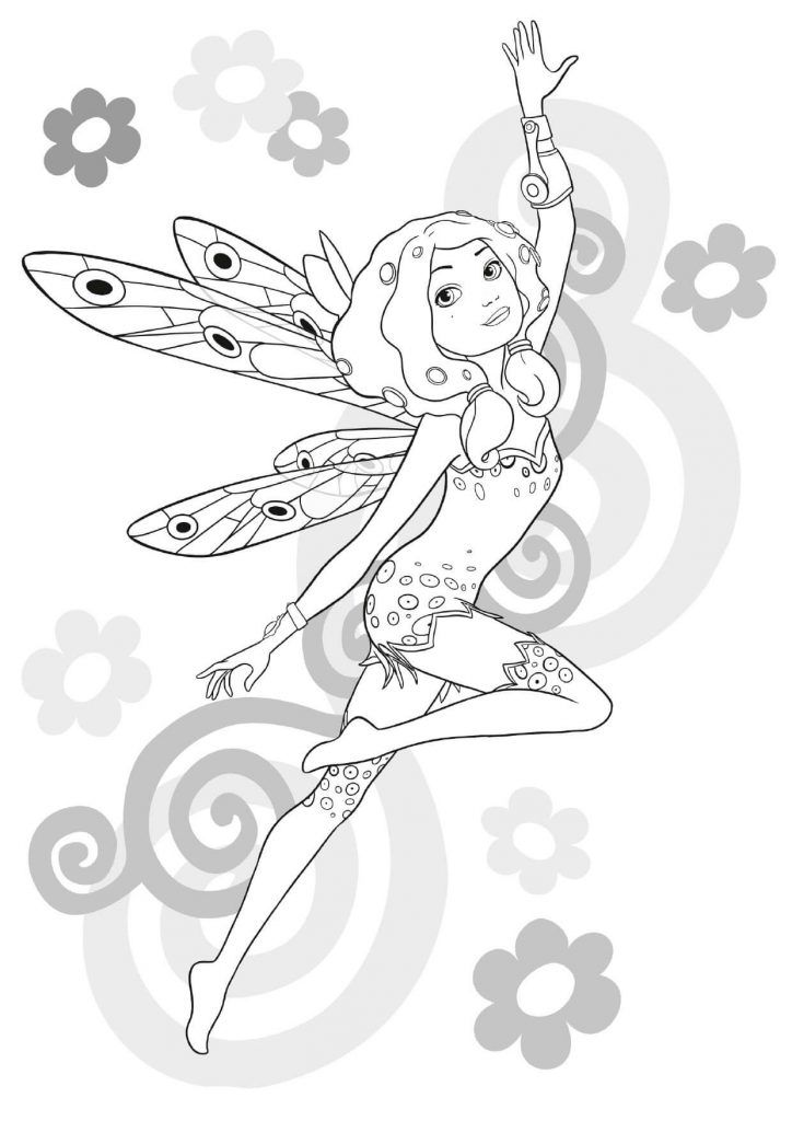 Mia And Me Coloring Pages Coloring Pages For Kids