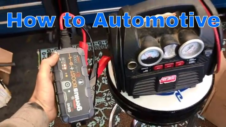 How to Jump Start a Car Battery -with a NOCO Genius Boost GB40 UltraSafe...