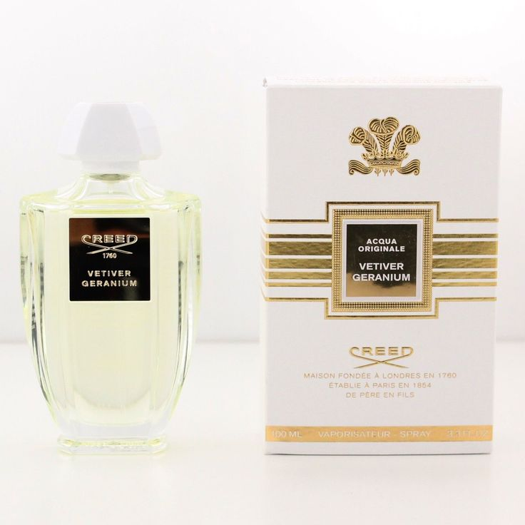 Profumo CREED VETIVER GERANIUM Millesimato 100 ml