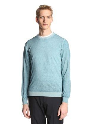 83% OFF Jil Sander Men's Crewneck Sweater (Teal)