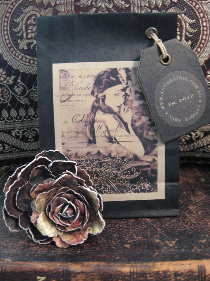 Vintage Soap Packaging Black Beauty by ANTIQUE SOUL www.antiquesoul.com.au