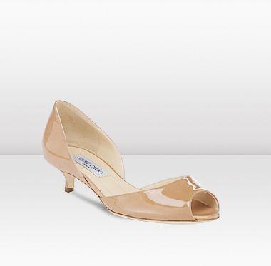 Ooo nude Choo kitten heels xxx