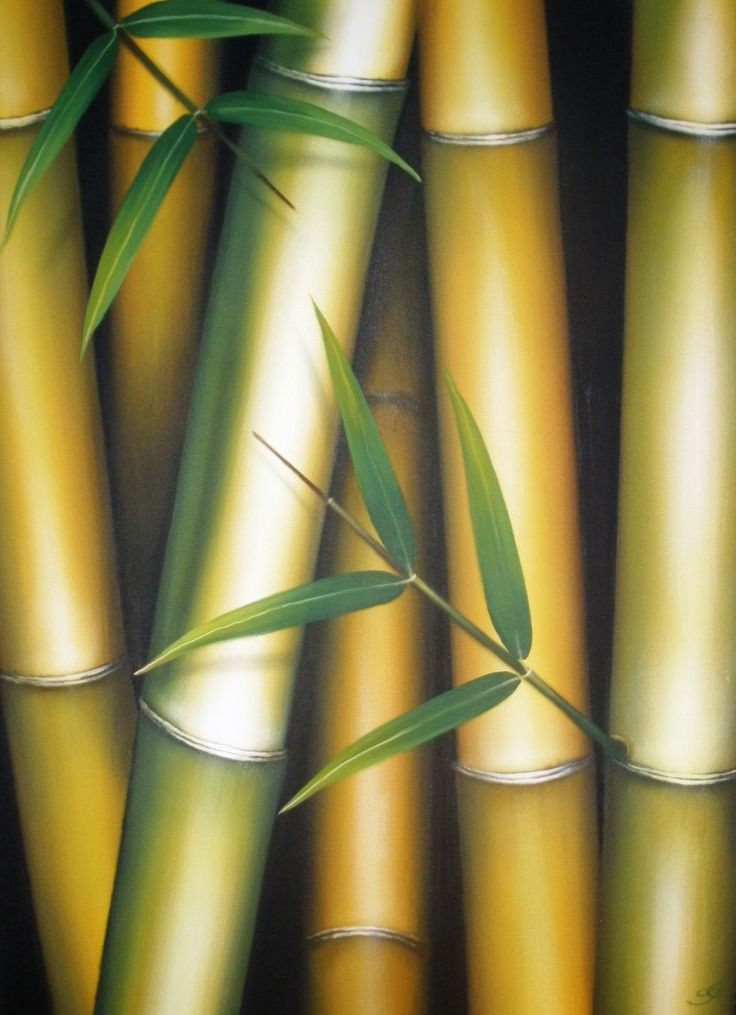 #790 Bamboo Painting