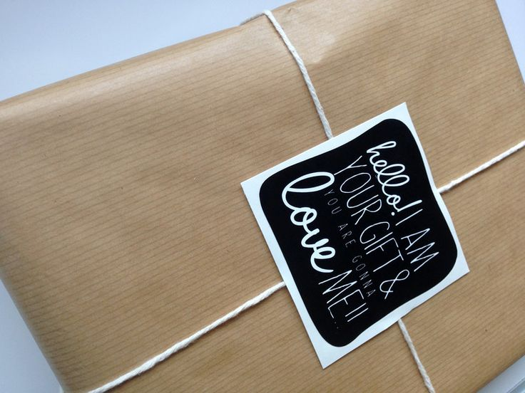 12 Black & White gift labels (6 designs) by Decorating Genius, for sale on http://hellopretty.co.za