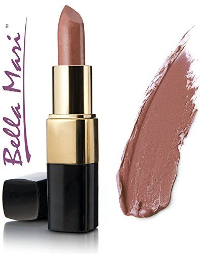 Bella Mari Natural Matte Lipstick Harvest Moon 4.5g. Mineral lipstick free from petrochemicals. Cruelty-free, vegan and vegetarian. Free from synthetic dyes or flavoring. Phthalate free, paraben free, preservative free, Bismuth oxychloride free. Free from gluten, dairy, soy, corn, peanuts, tree nuts, carmine.