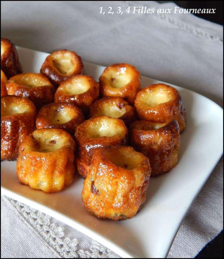 Cannelés salés Jambon - Tomates séchées