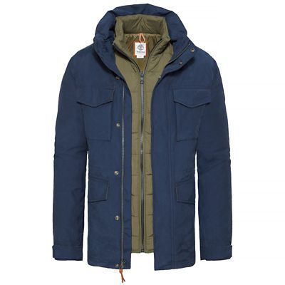 Shop Men's Snowdon Peak 3-in-1 M65 Jacket Night Blue today at Timberland. The official Timberland online store. Free delivery & free returns.