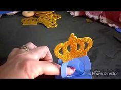 como fazer porta bombom de carruagem príncipe e princesas - YouTube