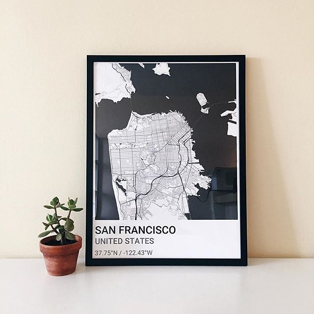 Best Custom Map Posters Images On Pinterest Custom Map City - Free customizable us map