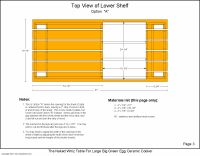 Table Plans -- The Naked Whiz's Ceramic Charcoal Cooker Page