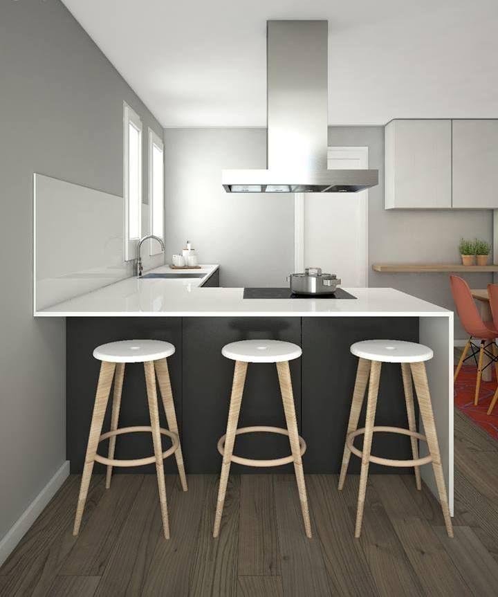 16 best cocinas modernas elegantes tms espais for Cocinas modernas barcelona
