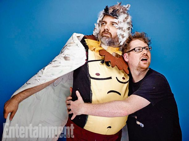 Dan Harmon, Justin Roiland, Rick & Morty. See more stunning star portraits from our photo studio at San Diego Comic-Con 2014 here: http://www.ew.com/ew/gallery/0,,20399642_20837150,00.html