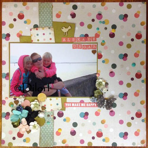 Layout created for Scrap-Perra by Dilorf, using papers from Basic Greys RSVP
