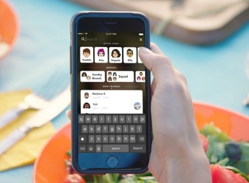 Snapchat iOS App Gets Redesign - http://appinformers.com/snapchat-ios-app-gets-redesign/6002/
