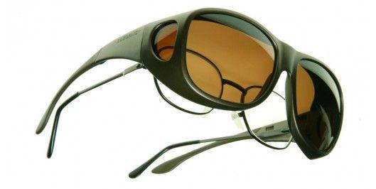 Sur lunettes polarisantes Cocoons Brun