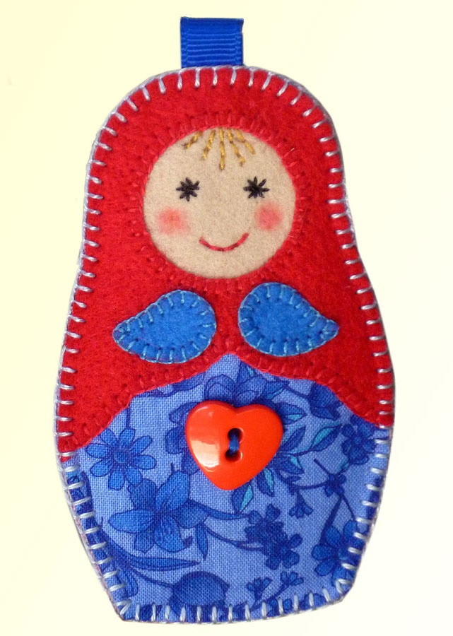 Matreshka by Lisa Pay - free pattern and steps.