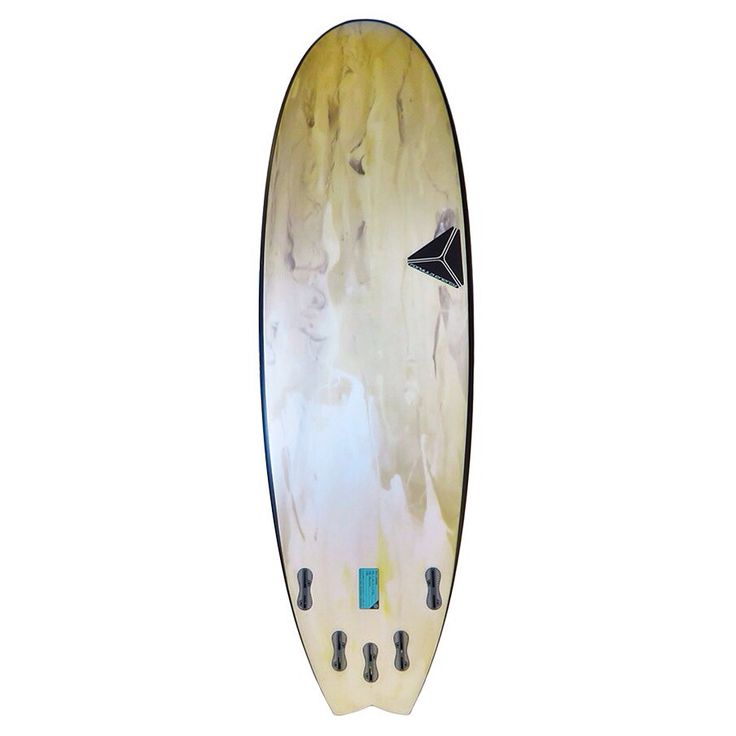 Little Demon model surfboard with coffee inspired resist tint